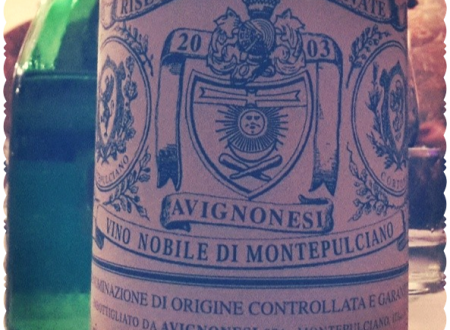 Riserva Grandi Annate Avignonesi Vino Nobile di Montepulciano DOCG 2003