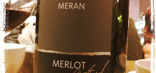 """MoreWineBeer Rating : I could define the Meran Merlot Festival Sudtirol Alto Adige DOC a """"wannabe"""", because I would like to be at the Merano Wine Festival. Unfortunately I was […]"""